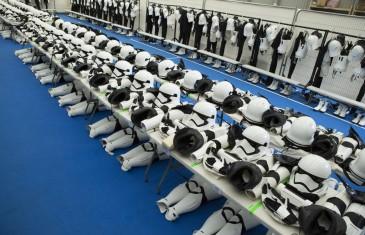Un passage dans la dressing room des Stormtroopers