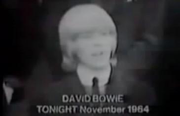 Quand Bowie défendait les droits des hommes aux cheveux longs (1964)
