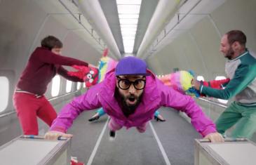 Zéro gravité pour le dernier clip d' OK GO