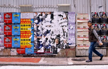 Expo solo pour Vhils à Hong Kong