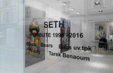 Exposition Seth Globepainter Tribute 1996 – 2016