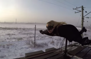 Trainsurfing – Trompe la mort sur rails