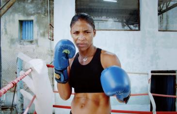 Namibia – combat d'une femme boxeuse