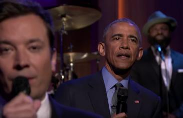 Barack Obama livre un show cool et groovy chez Jimmy Fallon