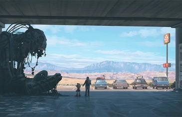 Découvrez l'univers sombre et futuriste de Simon Stålenhag