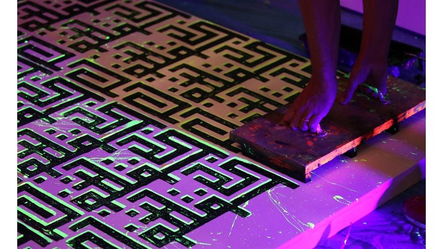 Lettre ouverte, de la calligraphie au street-art
