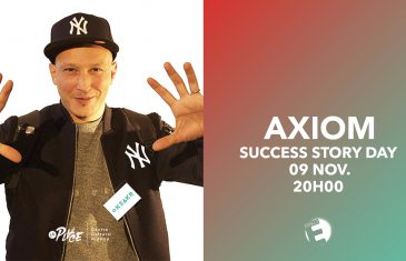 Success story – AXIOM fondateur de la start up KEAKR