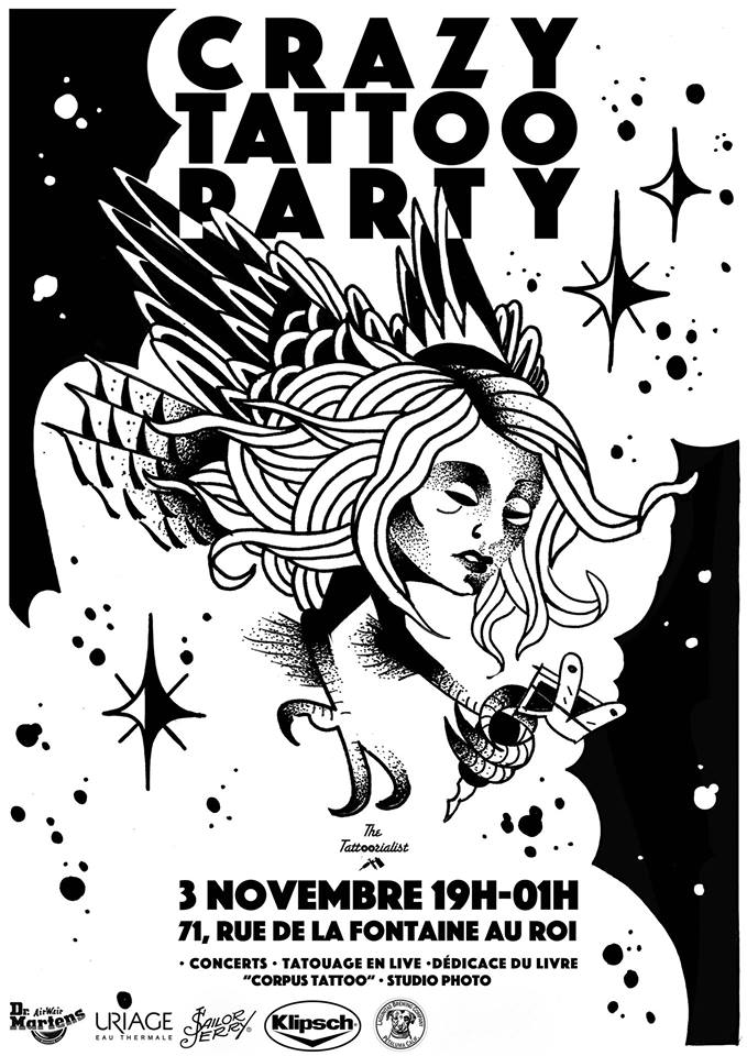 crazy tattoo party