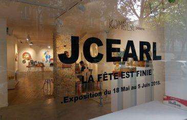 Retour photo sur l'expo de JC Earl «La fête est finie»