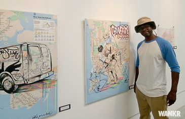 Retour sur l'expo de Batsh «Impression de rue»