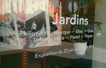 «Jardins» expo collective et estivale chez Adda & Taxie