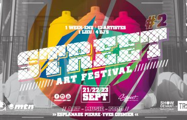 Le Street Art Festival revient pour une deuxième édition