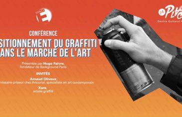 [Agenda] Un débat sur le positionnement du graffiti dans le marché de l'art