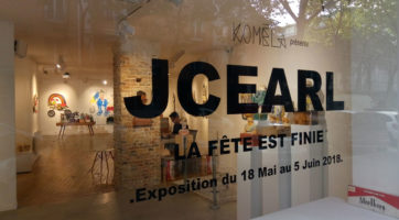 """Retour photo sur l'expo de JC Earl """"La fête est finie"""""""